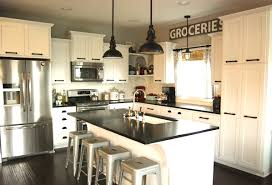 Small Picture Mix It Up Rustic Modern Kitchen Design Hayneedle Blog