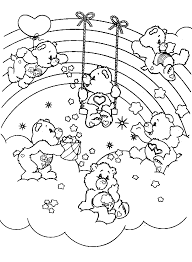 Small Picture The Care Bears Coloring Pinterest Care bears Bears and