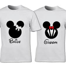 His And Hers Custom Design Us 11 96 37 Off Bride M And Groom M T Shirt Friends His Hers Couples Wedding Gift Cool Casual Pride T Shirt Men Unisex Fashion Tshirt In T Shirts