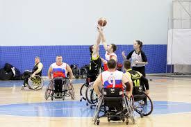 Баскетбол на колясках ПКР Паралимпийский комитет России
