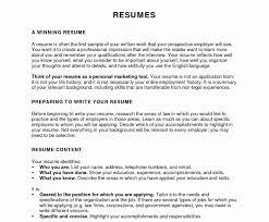 Legal Resume Format Elegant Cv Word Template Uk Aurelianmg Com