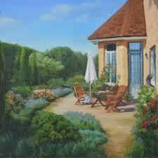 Масло oil Добро пожаловать мой дом мой сад моё патио Моя  Масло oil Добро пожаловать мой дом мой сад моё патио Моя дипломная работа масло холст 40х50 Зимой так трудно поверить в пышную зелень и цветение