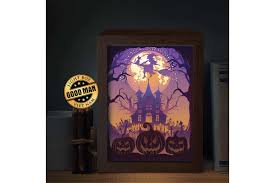 Use the elements to make your very own creations, such as stationery and scrapbooking projects. Halloween 3 3d Paper Cutting Light Box Shadow Box 551330 Paper Cutting Design Bundles
