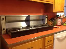 stove countertop. vintage fold down electric burners in bonnies 1950s kitchen stove countertop
