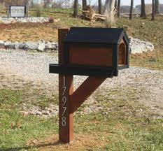 wood mailbox posts. Our Wood Mailbox Posts E