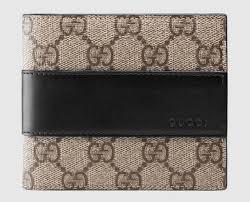 gucci wallet for men. gg supreme wallet gucci for men r