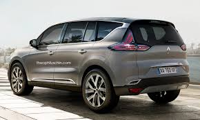 new car launches suvRenaults Upcoming 7Seat SUV Rendered with Espace Cues