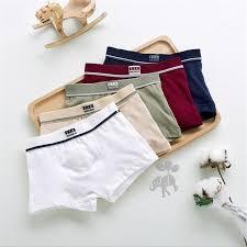 2018 new fashion Brand <b>high quality boys</b> cotton boxer shorts ...