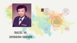 Hazel w. Johnson-Brown by Halee White