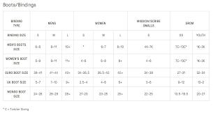 Burton Binding Size Chart Uk Burton Snowboard Size Chart Awesome 37 Flow Snowboard