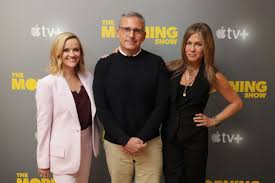 JENNIFER ANISTON and REESE WITHERSPOON at Apple TV + Conference 10/13/2019  – HawtCelebs