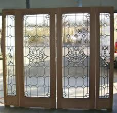 beveled glass door handsome fireplace screen ideas to bevel cers entry ii inserts front