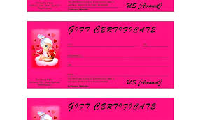 babysitting gift certificate template free beauty salon gift certificate template free hair download best t s
