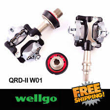 <b>Wellgo</b> Alloy Cleat Bicycle <b>Pedals</b> for sale | eBay