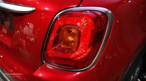 Fiat 500x Led Lights Fiat 500x Wows The Paris Motor Show Live Photos