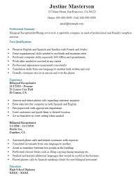 Bilingual Recruiter Resume