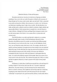 free perception essays and papers  helpme