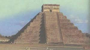 Доколумбова Америка ацтеки майя инки История Средних веков  Пирамида майя Чичен Ица