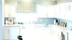 stunning kitchen tile walls blue with vertical ceramic tiles for