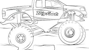 Coloring Pages Trucks Mortalityscoreinfo