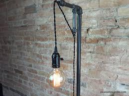 diy industrial lighting. Minimalist Floor Lamp - Industrial Lighting Pendant Edison Steampu \u2013 Peared Creation Diy L