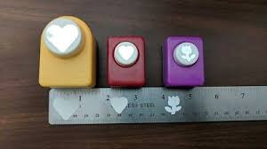 Flower Shaped Paper Punches 3 Mini Paper Punch 2 Heart Shaped 1 Flower Shape 9 50