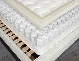 cutaway of open natural mattress