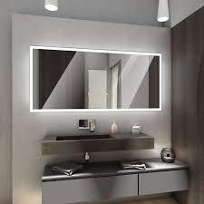 Badspiegel Mit Led Beleuchtung Badspiegel Wandspiegel Boston