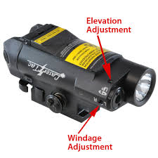 Compact Laser Light Combo Lasertac Cl7 G Compact Green Laser Sight Tactical Light
