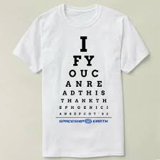 Us 10 34 31 Off Epcot Eye Chart Mens T Shirt Tops Tees Fitness Hip Hop Men Tshirts Clothing Super Big Size Cmt In T Shirts From Mens Clothing On