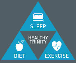 Diet And Excercise Sleep And The Health Trinity Loughborough University