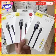 Dây sạc iphone Baseus C-shape sạc nhanh iphone 2.4A có đèn Led báo tự ngắt  khi đầy pin Rẻ nhất shopee, Giá tháng 10/2020