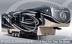 full house luxury fifth wheel toy haulers