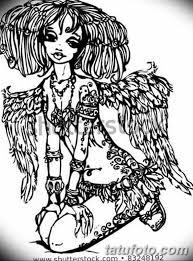 черный эскиз анимэ 09032019 013 Anime Tattoo Black Sketch