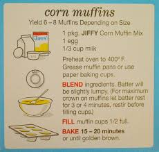 jiffy cornbread ingredients. Fine Jiffy Perfect Boxed Cornbread Throughout Jiffy Ingredients J