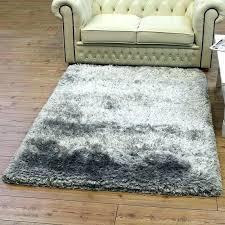 light grey fluffy rug stylish area rugs extraordinary plush for gray bedroom siesta diamond cream