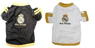 New Pet Apparel Real Madrid Fc Dog Jersey Soccer Football T