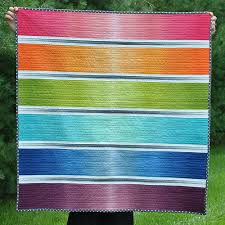 Ombre Rainbow | Rainbow colors. | Pinterest | Quilt, Ombre and ... & Ombre Rainbow - using a jelly roll of ombre fabric (which has a faded  effect to it). The grey ombre is pieced so that the colour fades outward in  contrast ... Adamdwight.com
