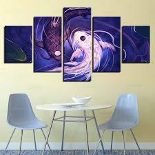 modern painting on canvas wall art pictures 5 panel fish koi yin yang home decoration posters framework living room im 507 in painting calligraphy from  on yin yang canvas wall art with modern painting on canvas wall art pictures 5 panel fish koi yin