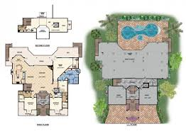 The Ocean Dream House Plan   Naples Florida   House PlansThe Ocean Dream House Plan