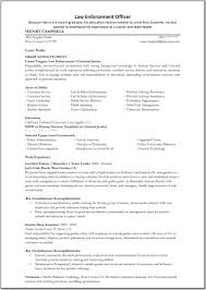 Sample Police Resume Sample Police Officer Resume Best Police Officer Resume Example 19