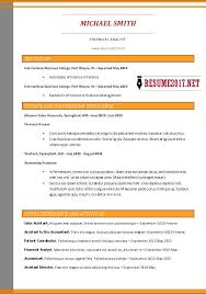 2017 Resume Delectable Format For Resume 60 Luxury How Resume Format Differs Around The