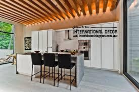 wood ceiling lighting. Wood-beamed-ceiling-designs-with-lighting-for-kitchen- Wood Ceiling Lighting