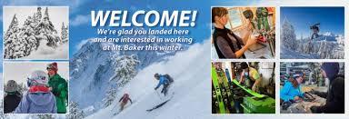 Seasonal Winter Jobs Mt Baker Ski Area Winter Jobs