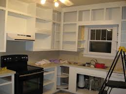 Inside Kitchen Cabinet Cool Paint Inside Kitchen Cabinets In Interior Home Designing With