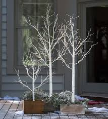 Indoor/Outdoor Birch Tree with Micro Lights | Create an elegant holiday  look with our