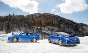 2015 Subaru WRX STI vs. 2004 Subaru Impreza WRX STi: Performance ...
