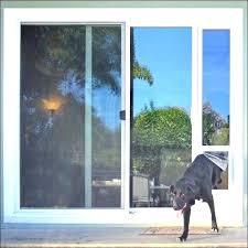 storm door with pet door built in screen door with dog door built in exterior doors