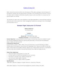 Fresher Cabin Crew Resume Sample Resume Invoice