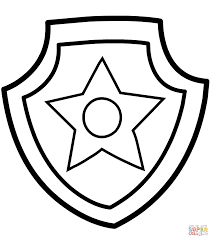 Paw Patrol Coloring Pages Free In Paw Wpvoteme